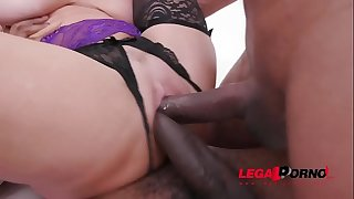 Veronica Avluv & Kristy Dark-hued eat and fist each others ass in hardcore orgy with DP, DAP & DVP SZ2124