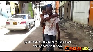 Real Amateur African Couple Hot Shower Sex