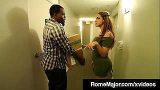 Black Knight Rome Major Fucks Latina Honey Miss Raquel!